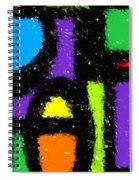 Shapes 12 Spiral Notebook