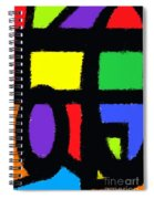 Shapes 14 Spiral Notebook