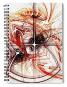Shapes And Symbols Spiral Notebook
