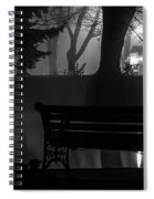 Shapes In The Park  Spiral Notebook