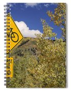 Share The Road Spiral Notebook