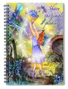 Share The Simple Pleasures Spiral Notebook