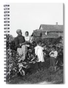 Sharecropper Family, 1902 Spiral Notebook