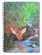 Sharing The Pond Spiral Notebook
