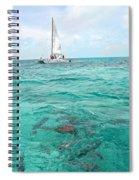 Shark N Sail I Spiral Notebook
