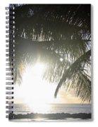 Sharks Cove Sunset Spiral Notebook
