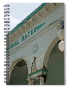 Sharon Springs Imperial Bath 2 Spiral Notebook