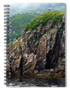 Sharp Jagged Rocks  Spiral Notebook