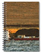 Shaver Tug On The Columbia River Spiral Notebook