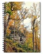 Shawee Bluff In Fall Spiral Notebook