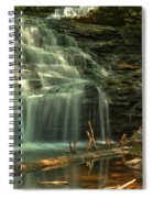 Shawnee Falls In The Spring Spiral Notebook