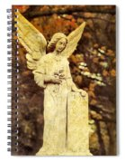She Glows In Autumn Spiral Notebook
