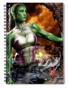 She-hulk Spiral Notebook