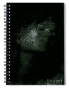 She Is Made Of Stardust Spiral Notebook