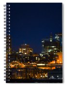 She Sparkles In The Night Spiral Notebook