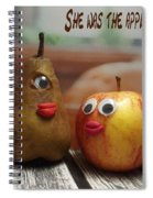 She Was The Apple Of His Eye Spiral Notebook