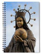 She Watches Over The World Spiral Notebook