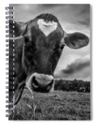 She Wears Her Heart For All To See Spiral Notebook