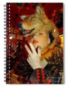 She Wolf Spiral Notebook