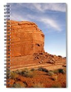 Shear Lined Cliff Spiral Notebook