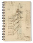 Shearing Machine With Detailed Captions Explaining Its Working From Atlantic Codex Spiral Notebook