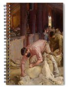 Shearing The Rams  Spiral Notebook