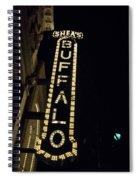Shea's Buffalo Spiral Notebook