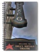 Sheas Buffalo Welcome Spiral Notebook
