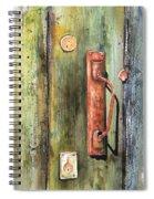 Shed Door Spiral Notebook