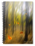 Shed Leaves Spiral Notebook