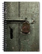 Shed Of Secrets Spiral Notebook