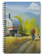 Sheep Camp Spiral Notebook