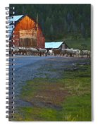 Sheep Crossing Spiral Notebook