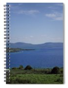 Sheep Grazing By The Irish Sea - Donegal Ireland Spiral Notebook