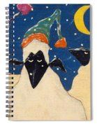 Sheep In Hats Spiral Notebook