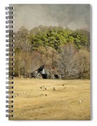 Sheep In The South Spiral Notebook