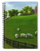 Sheep May Safely Graze Spiral Notebook