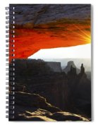 Sheer Magic Mesa Arch Utah Spiral Notebook