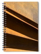 Sheets Of Iron Spiral Notebook