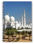 Sheikh Zayed Bin Sultan Al Nahyan Grand Spiral Notebook