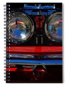 Shelby Gt 500 Mustang 2 Spiral Notebook