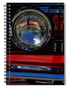 Shelby Gt 500 Mustang 3 Spiral Notebook