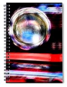 Shelby Gt 500 Mustang 5 Spiral Notebook