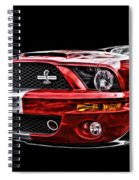 Shelby On Fire Spiral Notebook