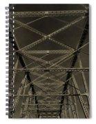 Shelby Street Bridge Details Nashville Spiral Notebook