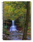 Sheldon Reynolds Falls And Kitchen Creek Spiral Notebook