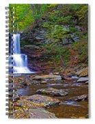 Sheldon Reynolds Falls Autumn Spiral Notebook