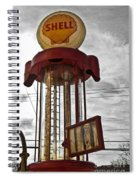 Shell Invisible Pump Color Spiral Notebook