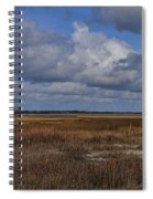 Shell Island To Figure Eight Panorama Spiral Notebook