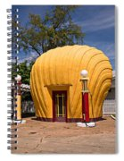 Shell-shaped Shell Station North Carolina Spiral Notebook
